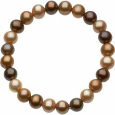 Freshwater Cultured Dyed Chocolate Pearl Bracelet