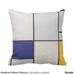 Mondrian Tableau I Abstract Artwork