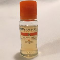 SALE Kerastase Oleo Fusion NEW Sealed Kerastase Oleo Fusion single use bottle. Intensive hair treatment. New, unopened. Use with an attachable sprayer (not included) or just by pouring onto & massaging into wet hair. Twist cap to open & allow serums to combine, then re-tighten cap & Shake well. Massage through hair. Leave in 5 minutes. Rinse out. Makes hair glorious! L'Oreal Makeup