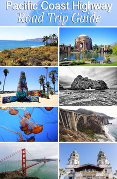 25 best stops on Pacific Coast Highway. Day guides to a 7 day road trip along the coast, recommendations for where to stay and where to eat, if you want to drive Pacific Coast Highway. Pacific Coast Highway, West Coast Road Trip, Us Road Trip, Camping Places, Places To Travel, Places To Visit, Beach Camping, San Diego, San Francisco