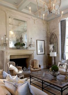 Awesome 85 Fancy French Country Living Room Decor Ideas https://besideroom.co/85-fancy-french-country-living-room-decor-ideas/