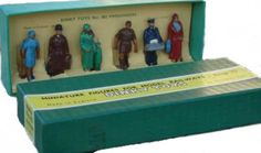 #diecast #Dinky 003 Miniature Figures for Model Railways new or updated at www.diecastplus.info
