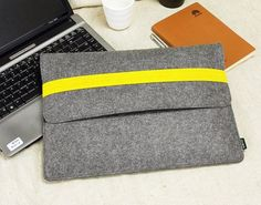 "11"" 13'' Felt Macbook Air New Sleeve Case 15'' Macbook Retina Pro Bag Wallet Cover Shell Macbook Holder E1148 on Etsy, $24.99:"