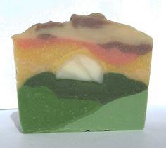 Simple Pleasures Handmade Soap: Landscape Challenge