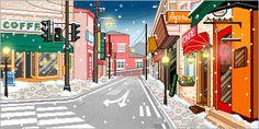 Paisajes de Navidad Animados