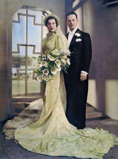 Cecilia Cohen and Abraham Rosenblatt, 1936