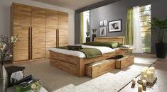 Komplett-Schlafzimmer aus Massivholz- Andalucia