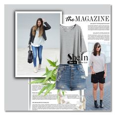 """""""NEW CONTEST- SHEIN"""" by molly15-1 ❤ liked on Polyvore featuring Pieces and Carvela"""