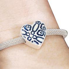 Blue Oriental Pattern - Bracelet - Engraving Option Available Oriental Pattern, Muslim, Islamic, Women Jewelry, Bracelets, Blue, Jewerly, Islam, Bracelet