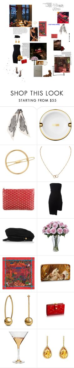 """""""B L A C K L I G H T"""" by angeladylovely ❤ liked on Polyvore featuring Bulgari, Marc Jacobs, Mrs. President & Co., Cartier, Goyard, Anthony Vaccarello, Eugenia Kim, Nearly Natural, David Yurman and French Purse"""