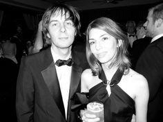 Sofia Coppola and Thomas Mars, by Terry Richardson