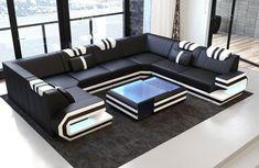 Leather Interior Design Corner Couch Designersofa Ragusa u Shape Ottoman Luxury Furniture Living Room, Luxury Furniture, Sofa Set Designs, Living Room Designs, Modern Sofa Designs, Living Room Sofa, Modern Furniture Living Room, Living Room Sofa Design, Luxury Sofa Design