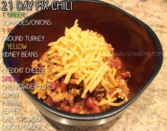 21 Day Fix Recipes - A List of the best 21 Day Fix Meal Ideas