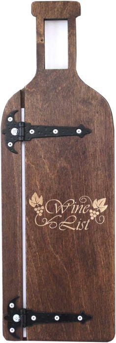 dřevěné desky na vinný lístek Wines, Modern, Wine List, Timber Wood, Menu Cards, Trendy Tree