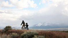 Mountain biking with kids - get a trailer bike