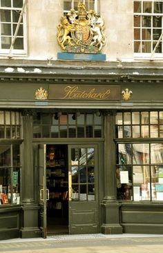 Hatchards Bookshop, Piccadilly, London -  its oldest book store, opened in 1797.