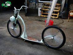 bicicleta Monopatin motorizado