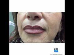Trucco semipermanente labbra - YouTube