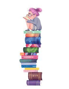 34 ideas book girl reading writing for 2019 I Love Books, Good Books, Books To Read, My Books, Reading Books, Girl Reading Book, Woman Reading, Book Wallpaper, Little Girls