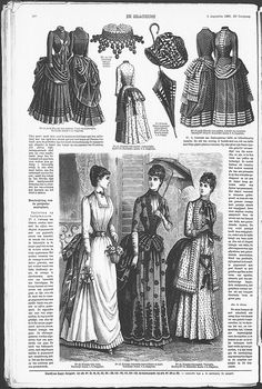 Gracieuse. Geïllustreerde Aglaja, 1885, aflevering 20, pagina 160