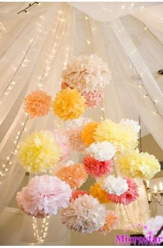wedding-pom-poms