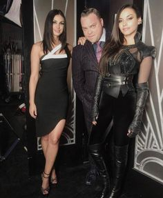 Only on Gotham do these three have something in common. Gotham Cast, Morena Baccarin, Bodycon Dress, Profile, Actresses, Outfits, Instagram, Goddesses, Entertainment