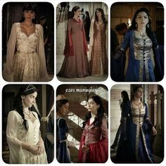"""Magnificent Heritage - Nurbanu is literally the biggest dress """"stealer"""" from all the Magnificent Century"""