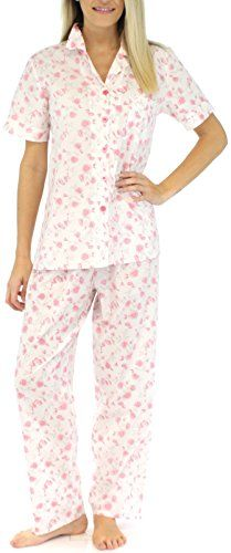 e283136b0 Short Sleeve Pajamas (SHCP1624-4014-XS) at Amazon Women's Clothing store: