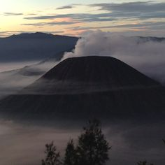 Bromo mount at east java - near by Batu Malang.. cold and nice place..