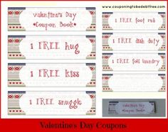 I Think This Is A Fabulous Idea Valentines Day Coupons For Your