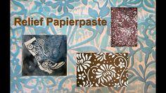 Mit dieser tollen Paste könnt ihr sehr schöne Effekte auf Papier herstellen! Die Relief Papierpaste ist hier erhältlich: http://www.lm-kreativ.de/ger_gam/pro...