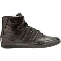 54a13b4f55600 Honja High by Yohji Yamamoto Men Shoes Gun Metal Running White. Sneaker  Premium · ADIDAS Y-3 ...