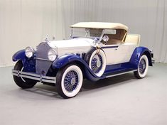 This Packard 640 Custom was produced in 1929. The original price of this car was $3,750. This car would have only been available to the very rich people.