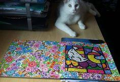 @Regrann from @alecguedesb26 -  Inspirado em Romero Britto... Material : Lápis de Cor Giotto e Caneta Ponta Porosa Faber Castell Livro: Jardim Secreto (pag 34-35)  #coloredpencils #livrosdecolorir #florestaencantada #jardimsecreto #boracolorirtop #maiscorporfavor #coloring_secrets #colorindolivrostop #secretgarden #enchantedforest #coloringbook #coloringforadults #painting #artecomoterapia #arteterapia #johannabasford #artbook #arttherapie #amocolorir #lovecolors #divadasartes…