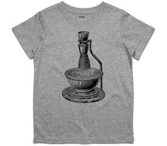 El Cheapo Antique Shaving Gear Toddler Grey Marle T-Shirt