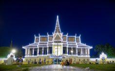 Moonlight Pavilion in Phnom Penh. Cambodia