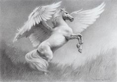 Pegasus by thedrawinghands on @DeviantArt