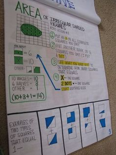 Area of Irregular Shapes - common core measurement and data- common core MD resources