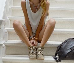 Fancy - Bobby Low-Top Sneakers by Isabel Marant