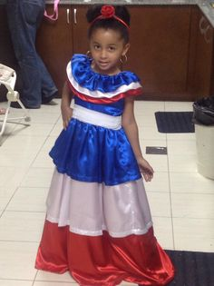 Traditional Haitian / Dominican dress