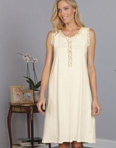 5365fc249c8 Leslie - Luxury Nightwear - Schweitzer Linen. Luxury NightwearPin TucksNight  GownClosureSpainWhite ...