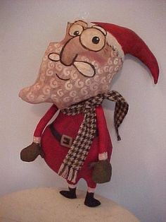 My Santa doll, Joanne Harper, My Disgusted Cats