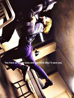 """""""You have all of these rules and you'll think they will save you."""""""