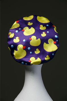 NEW Ducks Microfibre Waterproof Shower Cap by DillysCollections Shower Cap, Shower Time, Beauty Regime, Luxury Hair, Daily Beauty, Hat Hairstyles, Protective Hairstyles, Layered Hair, Hair Type
