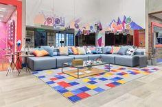 BBB21: Cores da casa podem interferir no comportamento dos participantes? - Casa Vogue   Ambientes 21st, Art Deco, Cabin, The Originals, Furniture, Home Decor, Big Brother, Lei, Vogue