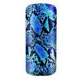 Blixz Nail Foils - Snake Blue