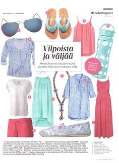 Lifefactory at Hyvä terveys 7 2015 (Finland)   www.bigsmallcompany.com Minimalist Closet, Gina Tricot, Capsule Wardrobe, Finland, Polyvore, Image, Fashion, Moda, Fashion Styles