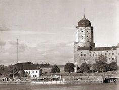 Viipuri Ennen ja Nyt. FYI: SA-kuvien kuvatekstit eivät ole omaa tuotantoa vaan sodanaikaisten TK-kuvaajien kirjoittamia. Viborg, Those Were The Days, Finland, Taj Mahal, Nostalgia, Building, Russia, Travel, Dreams