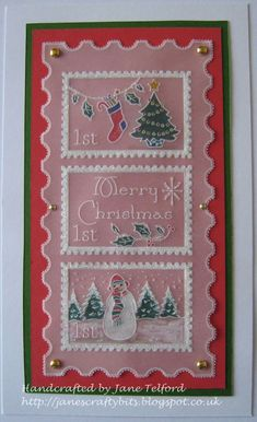 Groovi card created by Jane Telford