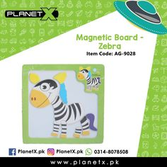 Product: Magnetic Board - Zebra Item Code: AG-9028 Price: Rs 150  Order Now: http://ift.tt/2dY8oxk  Whatsapp: 03148078508  Description: - 3d Magnetic puzzle - Material: Wood - Size: 15 x 15 x 1 (cm) - Age range: 12 months to 4 years - Style: Animal - Puzzle style: Magnetic puzzle  #CashOnDelivery #PlanetX #AllOverPakistan #OnlineToyShop #Karachi #Lahore #Islamabad #Kids #Children #Youngsters #ToyShop #EasyShop #LearningKids #LearningToys #Puzzle #MagneticPuzzle
